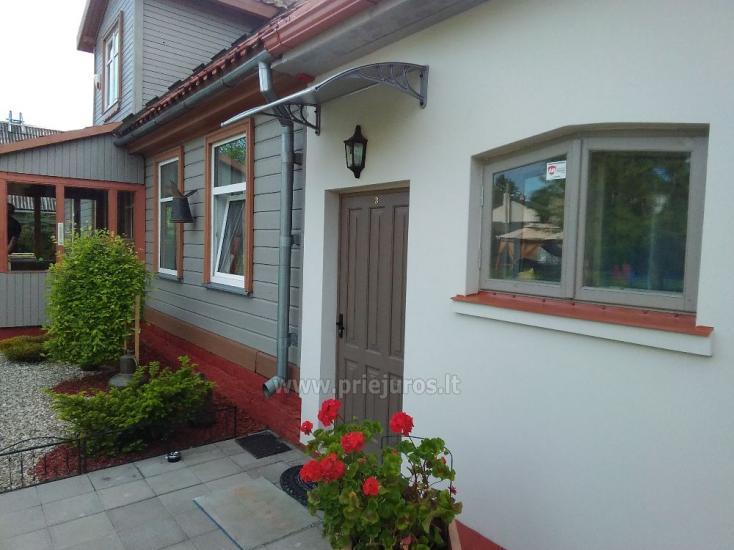 1-3 kamb. komfortabilūs apartamentai su didele privačia teritorija netoli jūros Ventspilyje - 25