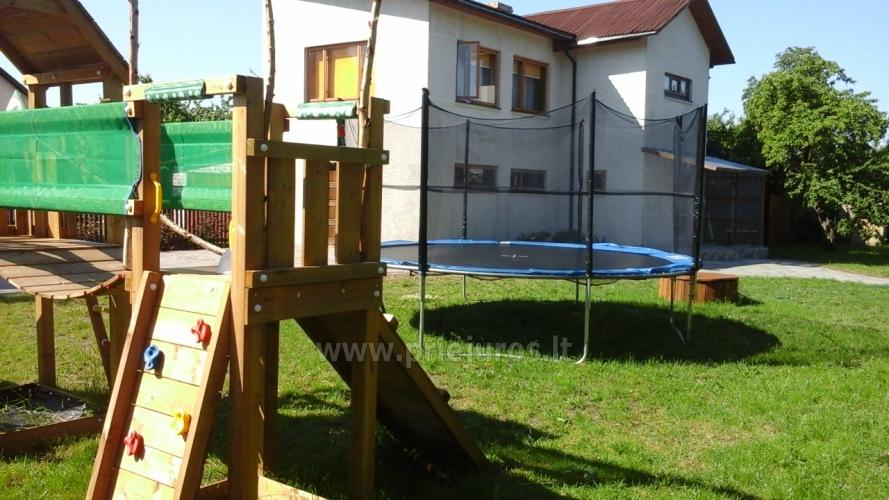 Guest house with private yard, children playground, trampoline, fireplace - 3