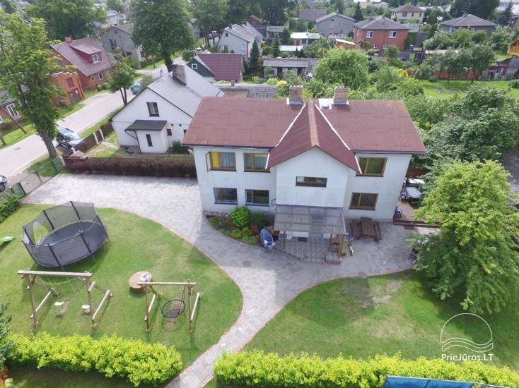 Gästehaus mit privaten Garten, Kinderspielplatz, Trampolin, Feuerstelle - 1