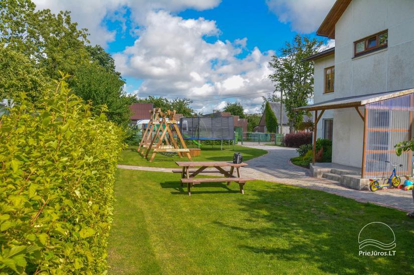 Gästehaus mit privaten Garten, Kinderspielplatz, Trampolin, Feuerstelle - 6