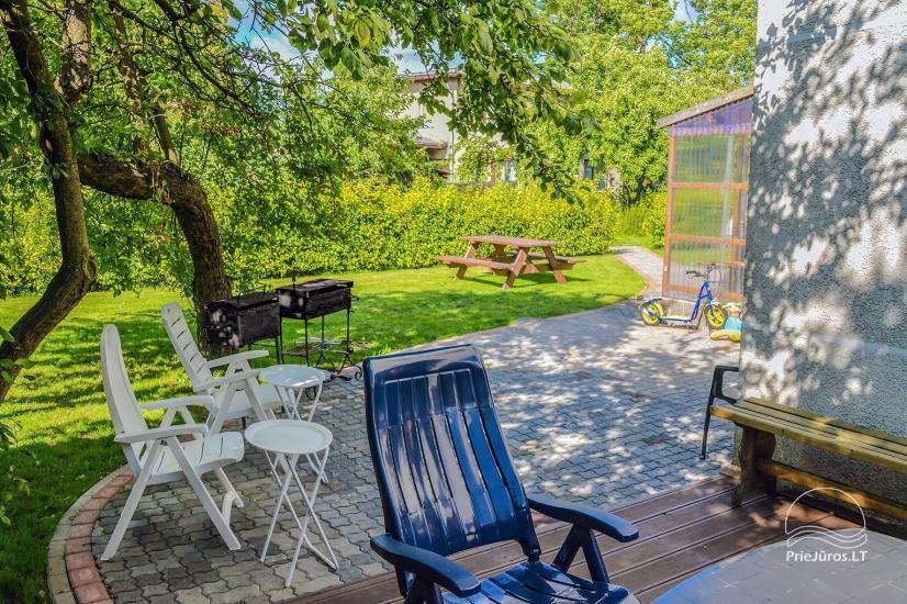 Gästehaus mit privaten Garten, Kinderspielplatz, Trampolin, Feuerstelle - 10