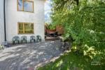 Guest house with private yard, children playground, trampoline, fireplace - 7