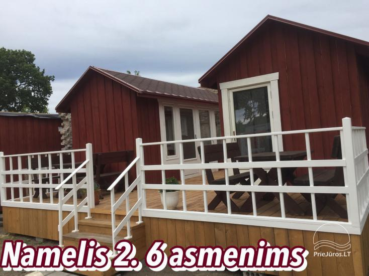 Campers, holiday cottages and villas in Ventspils