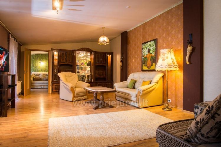 Dviejų kambarių apartamentai Ventspilyje Žalias namas - 1
