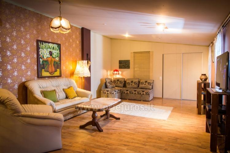 Dviejų kambarių apartamentai Ventspilyje Žalias namas - 3