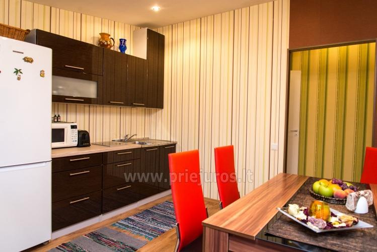 Dviejų kambarių apartamentai Ventspilyje Žalias namas - 5
