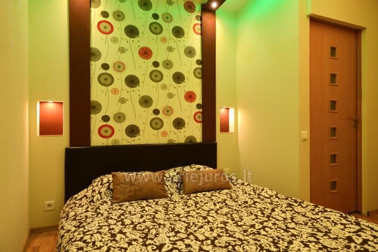 Dviejų kambarių apartamentai Ventspilyje Žalias namas - 8