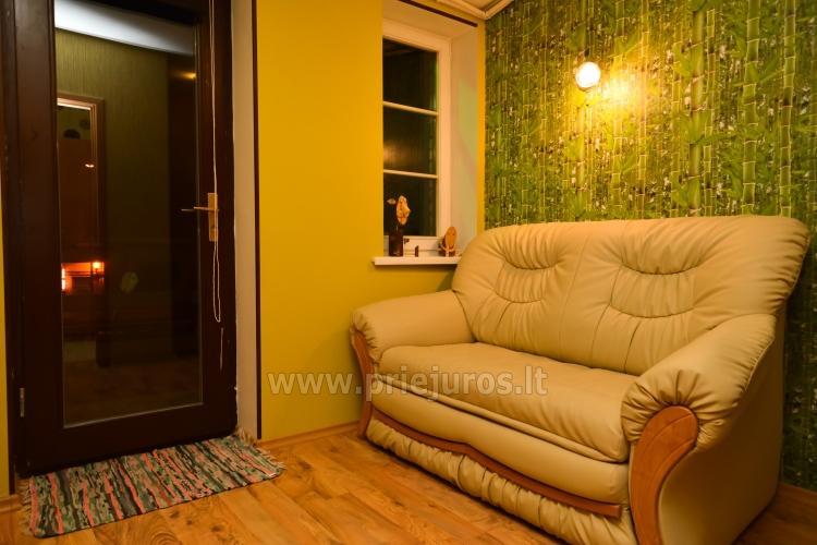 Dviejų kambarių apartamentai Ventspilyje Žalias namas - 9