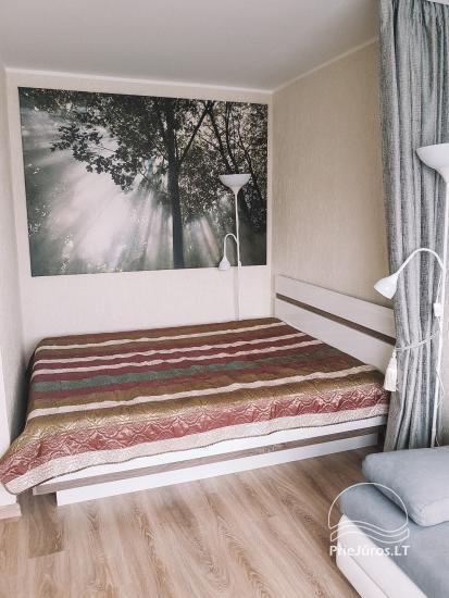 Vieno kambario buto nuoma Ventspilyje, Latvijoje. - 1