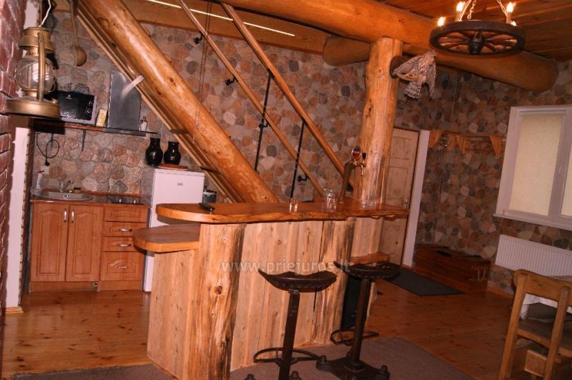 Māja ar pirti, banketu zāli netālu no Baltijas jūras un ezeru - 13
