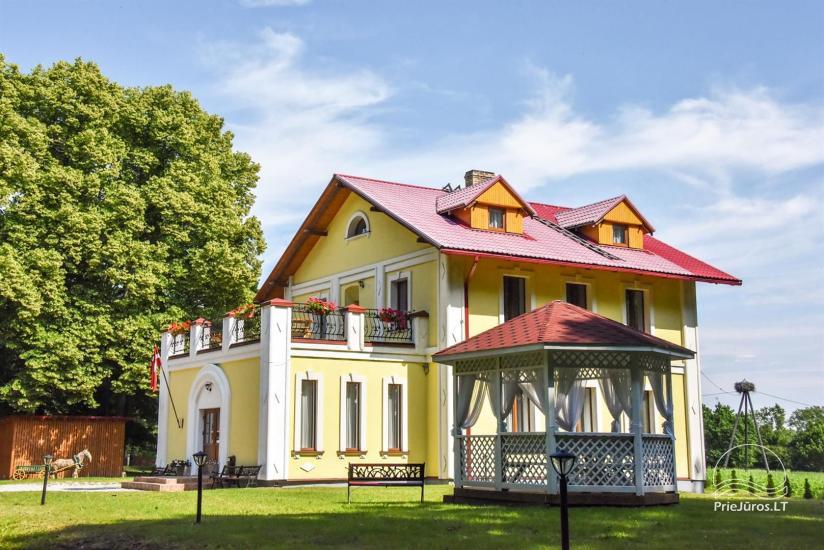 Svečių namai ir kempingas Ventspilio rajone  Leču muiža - 2