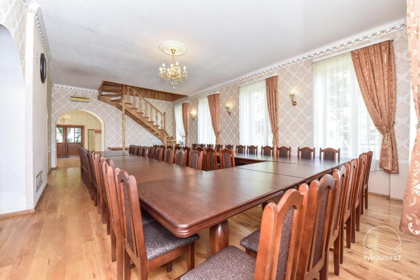 Svečių namai ir kempingas Ventspilio rajone  Leču muiža - 17
