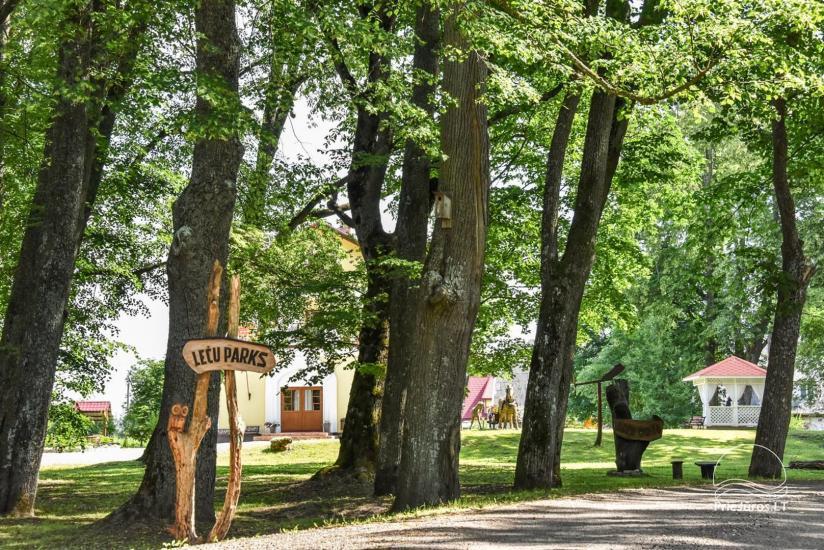 Svečių namai ir kempingas Ventspilio rajone  Leču muiža - 13