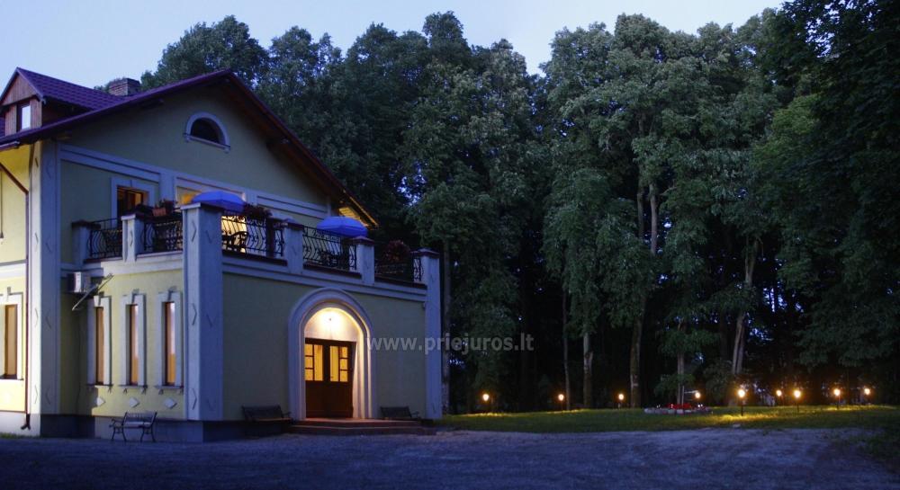 Svečių namai ir kempingas Ventspilio rajone  Leču muiža - 8