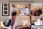 1 Zimmer, 4 Schlafplätze Wohnung zu vermieten in Palanga