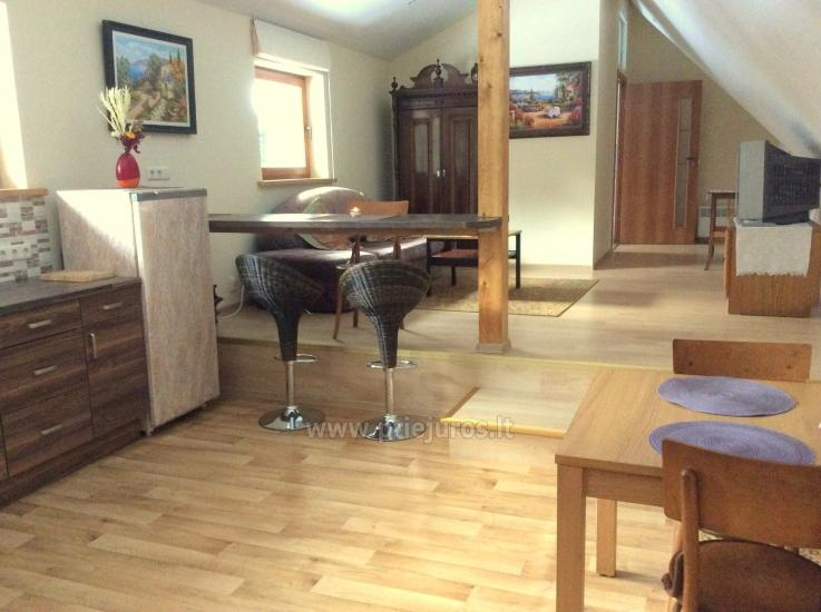 New apartment with a separate yard in Jurmala - 1