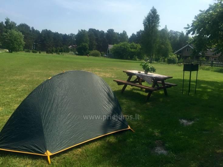 Campsite near the sea in Latvia, Roja region Randas, 150m to the sea - 4