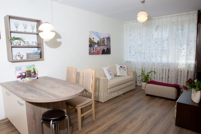 Trumpalaikė apartamentų nuoma Klaipedos centre