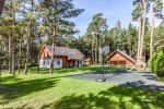 Apartment Mežsargi - in a cozy pine wood, 250 m from the sea!