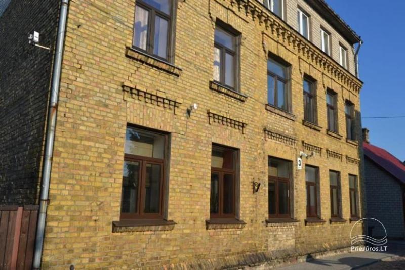 Dviejų kambarių buto nuoma Ventspilyje