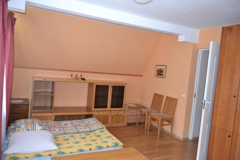 Haus mit einer Sauna und einem Trampolin in Ventspils - 11
