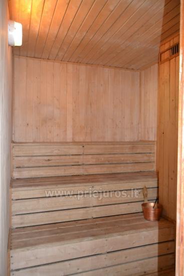 Haus mit einer Sauna und einem Trampolin in Ventspils - 5