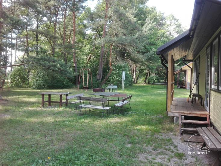 Campsite between Baltic sea and Pape lake Rietuva - 5