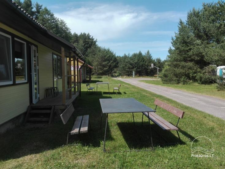 Campsite between Baltic sea and Pape lake Rietuva - 4