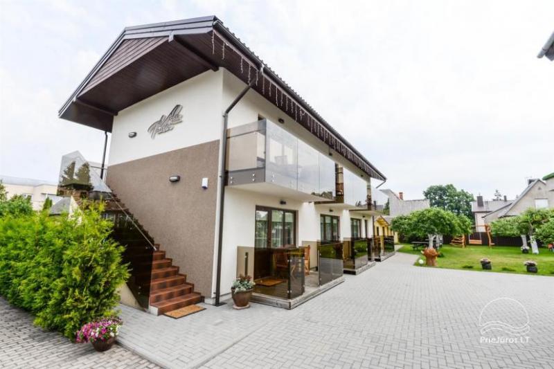 Naujų butų, apartamentų, namelių nuoma VILA TANTE