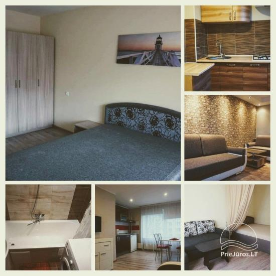 One-two rooms apartments for rent in Ventspils