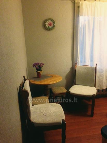 A sunny two-rooms apartment in Ventspils - 4