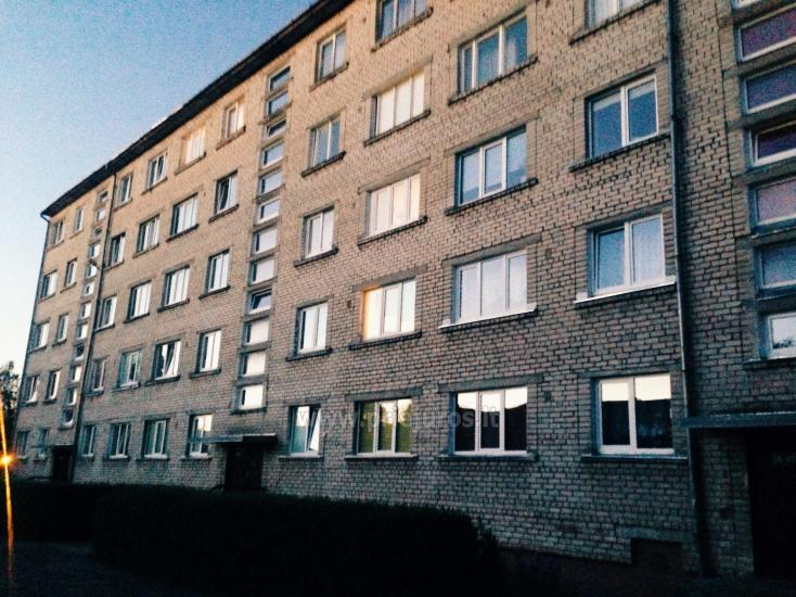 A sunny two-rooms apartment in Ventspils - 1