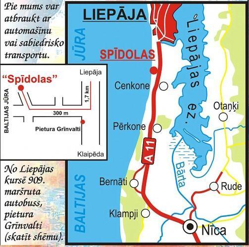 Spidolas - Lauku māja Liepājā - 21