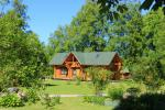 Bathhouse, banquet hall in Camping in Jurklane (Latvia) SILI