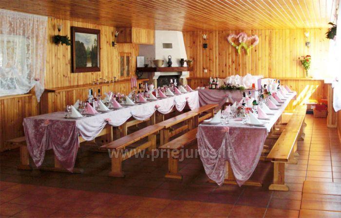 Pirtis ir banketų salė stovyklavietėje Ērgļi - 3