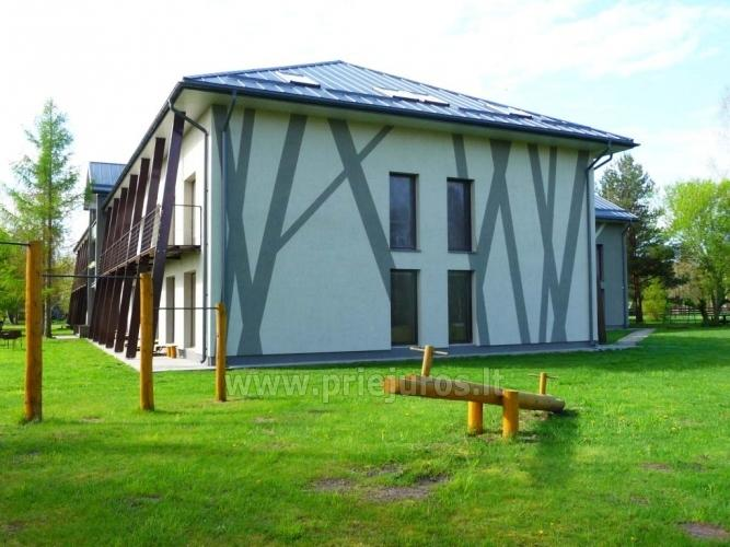 Bathhouse and banquet hall in Latvia in Liepaja region in holiday home Aulaukio Baltija - 6