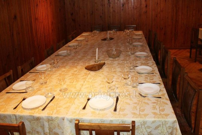 Bathhouse and banquet hall in Latvia in Liepaja region in holiday home Aulaukio Baltija - 1
