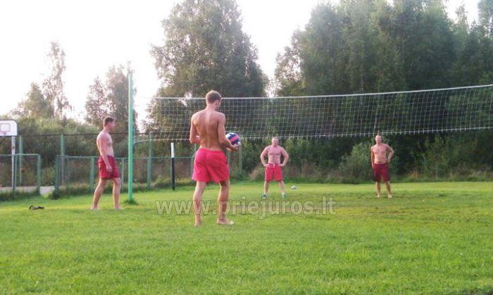 Billard, Tischtennis, Sportspiele im Ferienhaus Aulaukio Baltija