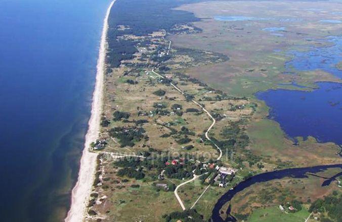 Zvejo jūras un ezera Papes, laivu noma. Atpūtas nami Liepajas rajona Aulaukio Baltija - 5