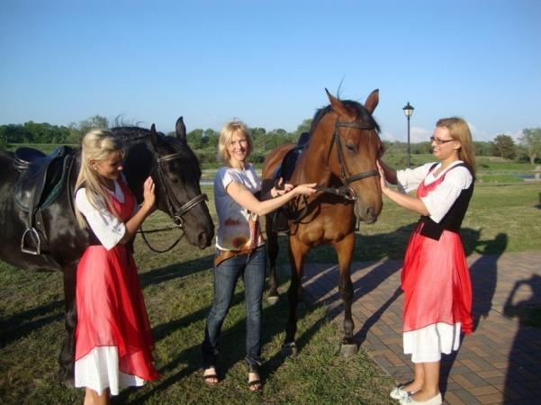 Izjādes ar zirgiem Ventspils novada viesu nami un kempinga Ventaskrasti - 5
