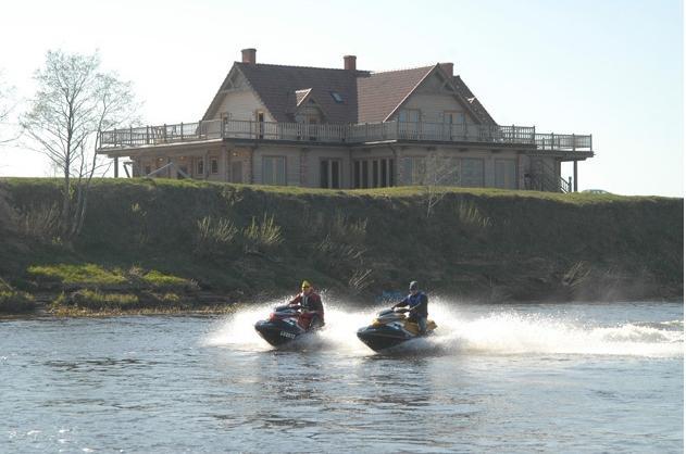 Valčių nuoma, žvejyba Ventos upėje, Svečių namai ir kempingas Ventaskrasti - 2