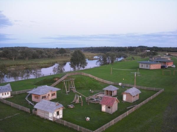 Svečių namai ir kempingas Ventspilio rajone Ventaskrasti - 5