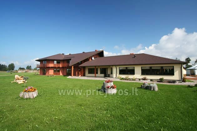 Restaurant, banquet and conference hall in Guest House in Jurkalne Liedags - 5