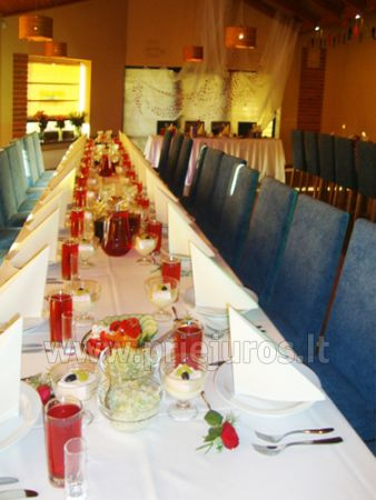 Restaurant, banquet and conference hall in Guest House in Jurkalne Liedags - 3