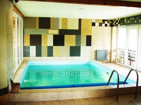 Pirtis su baseinu svečių namuose Jūrkalnėje Liedags
