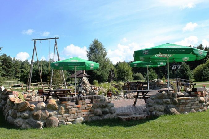 Cafe in Leisure and entertainment center in Liepaja region VĒRBEĻNIEKI - 2