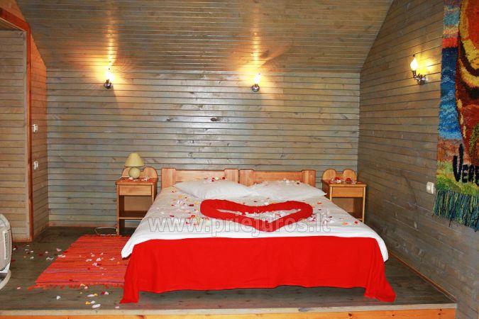 Romantiškas poilsis Poilsio ir pramogų komplekse Nicoje Liepojos rajone Verbelnieki - 8