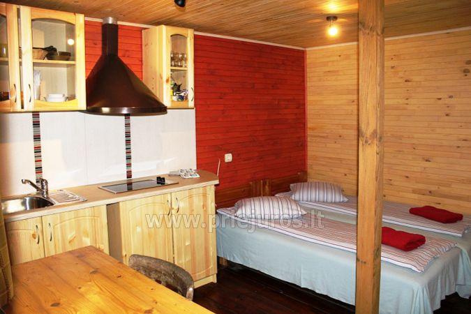 Romantiškas poilsis Poilsio ir pramogų komplekse Nicoje Liepojos rajone Verbelnieki - 10