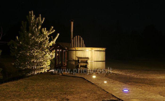 Romantiškas poilsis Poilsio ir pramogų komplekse Nicoje Liepojos rajone Verbelnieki - 17