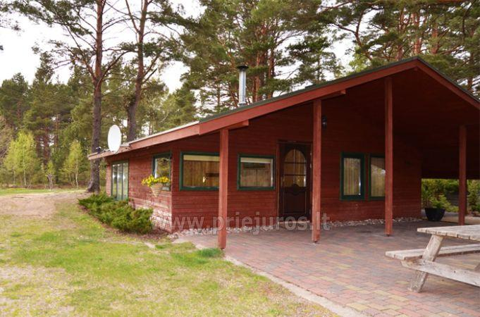 Holiday in Ventspils region in camping Mikelbaka
